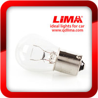 1156 clear/white bulb for auto/car/motorcycle turn signal ligths