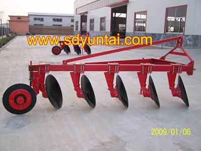 Agriculture machinery professional Mounted 4 disc plough with tractor