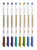 Kids Favor Coloring Book Multi-color  Metallic  Fineliner   Pens