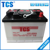 China Factory CE SASO ISO90001 Car battery with 18 Months warranty 12V 45AH mf car battery korean car battery
