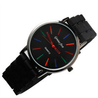 New product 2015 interchangeable silicone strap watch