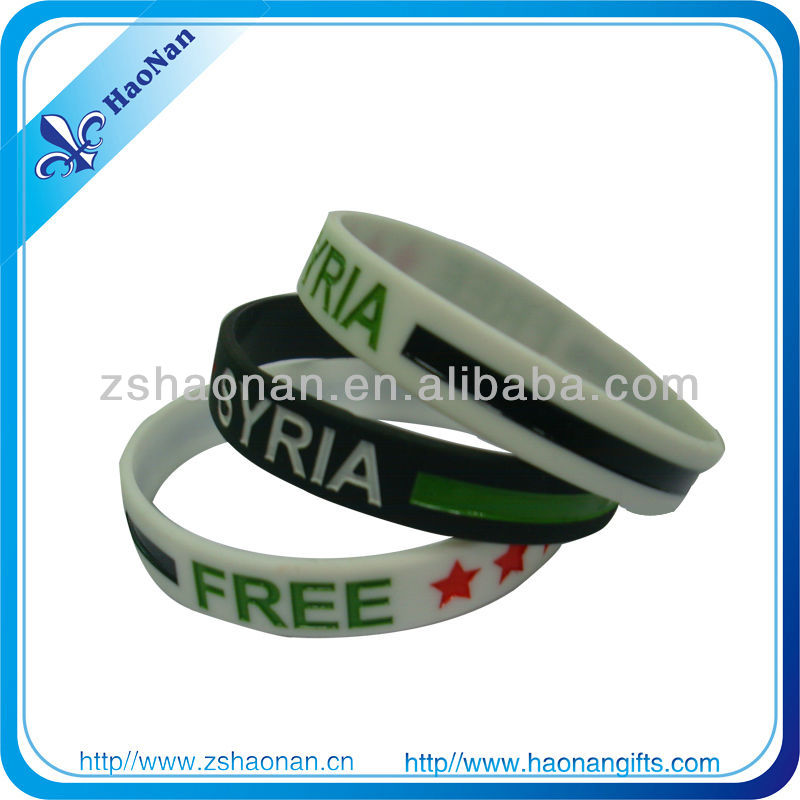 2015New Items in China Market alibaba Personalized debossed sports activity used for wristband