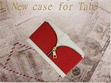 Tab 3 7.0 T210/P3200 flip leather case, wallet stand case for Tab3 series