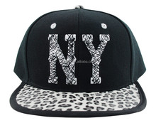 Hot fashion leopard print New York cap