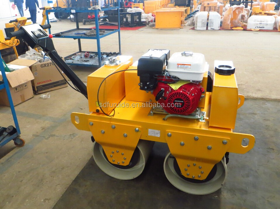 Hand operated roller with double drum (FYL-S600)