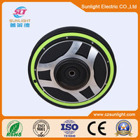 48V 60V 350W 800W Electric Wheel Hub Motor Car