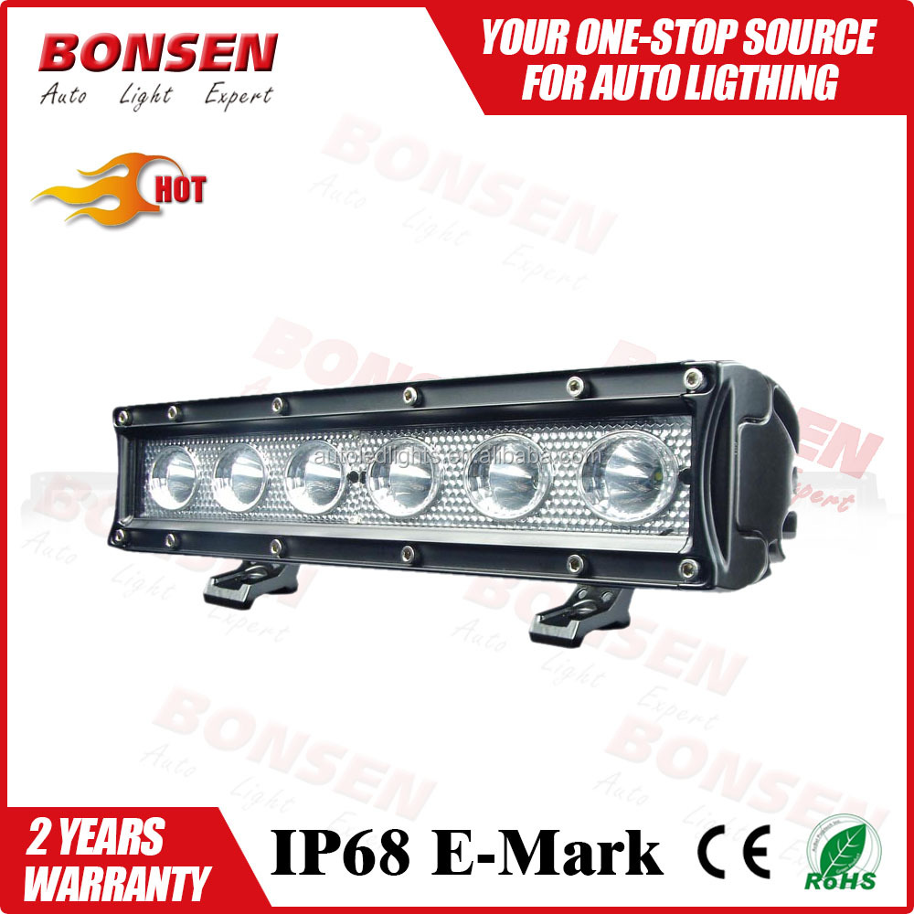 120w 39inch single row 5w led flood spot light offroad led light bar for off road SUV ATV 4wd