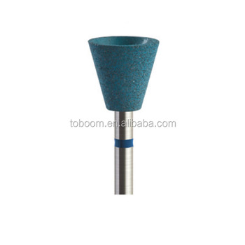 RD2213 Rubber diamond polisher HP shank ( dental polisher and tooth polisher) Special for zirconia/porcelain workpiece