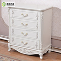 Anituqe French Style Wooden Chest of Drawers Storage Cabine Armoire