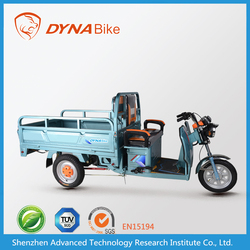 "Cost effective e-tricycle style ""DYNABike"" brand motor tricycle for cargo"