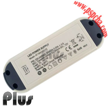 magnetic led driver Safe No-load Operation Short circuiting protection CE certificates 50w power led and driver