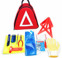 Triangular Roadside car Emergency kit