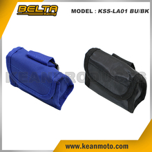10*8*4 cm In Blue Or Black Universal Brake Disc Alarm Lock Velcro Carry Pouch