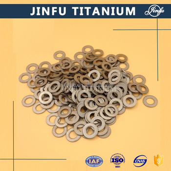 DIN125 china factory titanium price flat washer