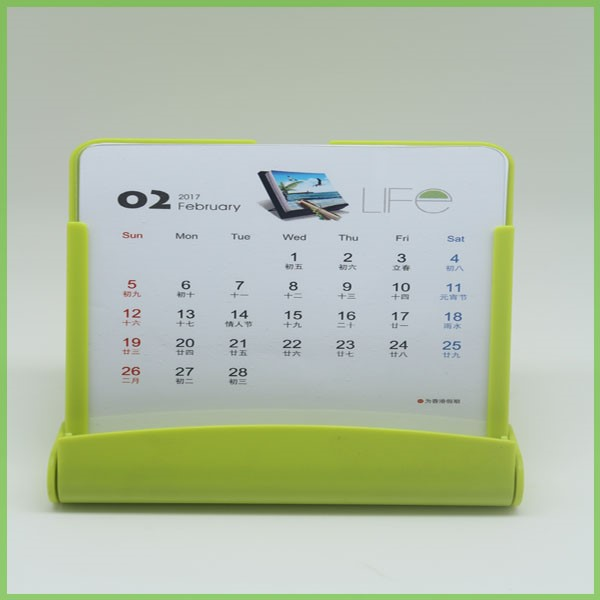 Wholesale Cheap Table Mobile Stand Up Calendar