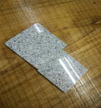 G303 white granite tile absolute black flamed granite