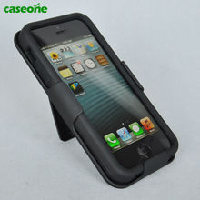Made In China!!!Waterproof defender case for iphone 5,Carbon Fiber phone cover for Apple5S