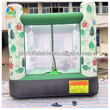 white & green mini inflatable Animal Bouncer China manufacturer inflatable