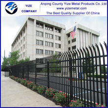 China cheap hot dip galvanized pvc palisade fence for sale ( Direct factory )