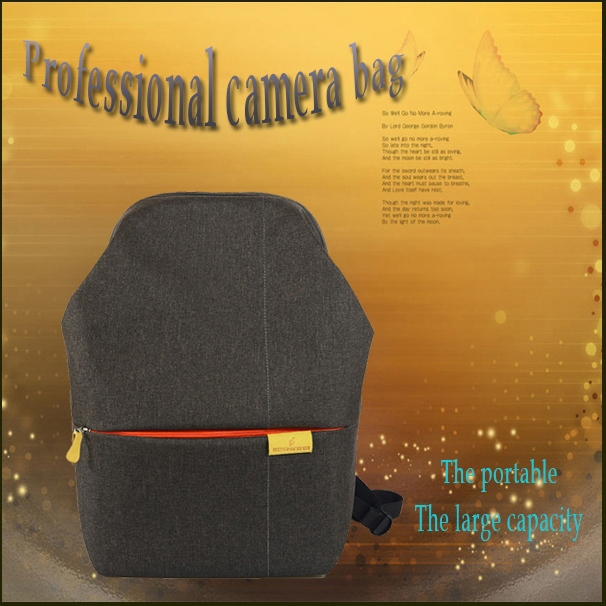 2015 backpack for SLR backpack canvas hot sell lady camera bag