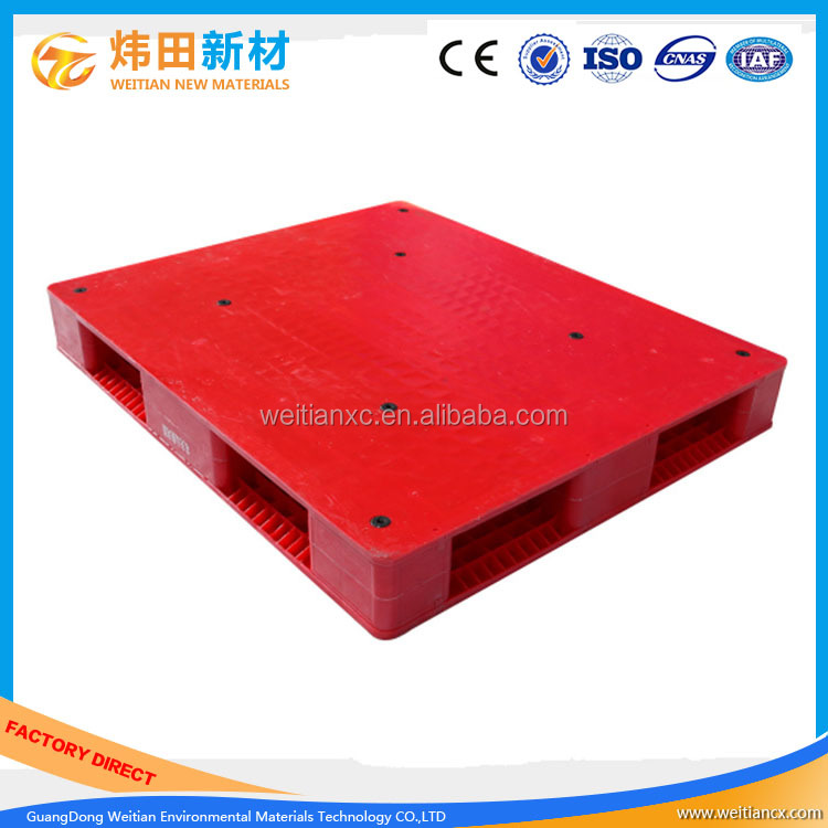 Single Faced Hygenic Plastic Pallet Closed Deck Plastic Pallet For Sale