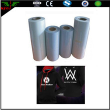 sun retro silver pink reflective aluminum foil vinyl material in rolls for heat transfer logo