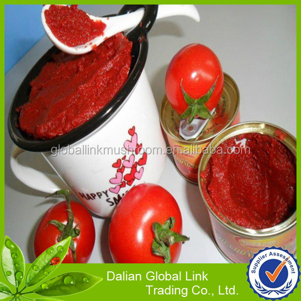 Chinese Canned concentration Tomato paste
