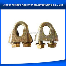 clips fastener adjustable wire rope clamp