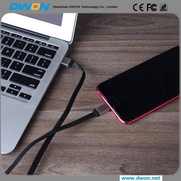 2017 New Design Magnetic Cable Charger magnetic cable connector for Iphone and Android Data Cable