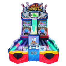 Real Experienced Coin Operated Ticket Redemption Bowling Arcade Game Machine For Amusement Park