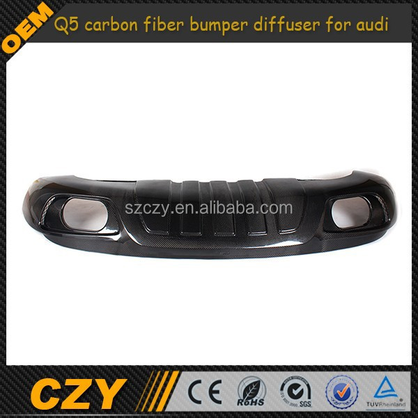 ABT design Q5 carbon fiber bumper diffuser for audi