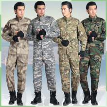 Outdoor Unisex Camouflage military uniform us army combat uniform multicam Airsoft paintball militar tactical clothing
