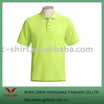 Mint green solid color polo shirts accept your own design for Mint color polo shirt