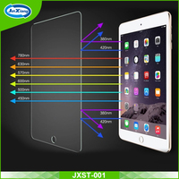 Anti-broken super hard 9h tempered glass film screen protector for ipad 5