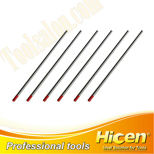 Thoriated Tungsten Electrode With Red Tip
