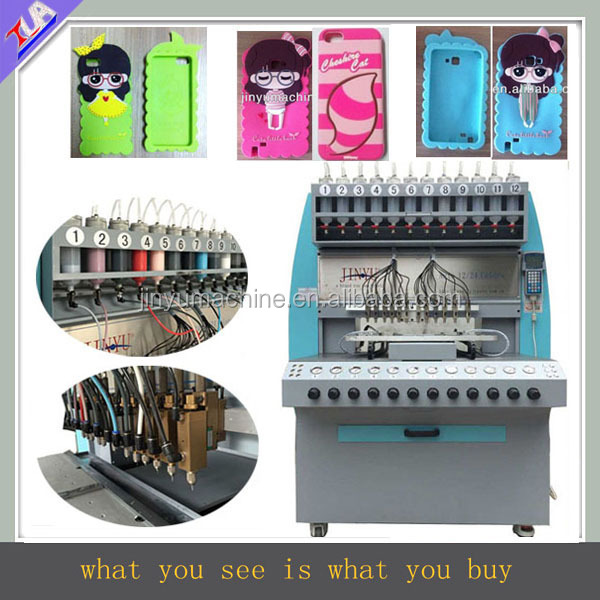 JY-B02 popular silicon mobile phone case making machine