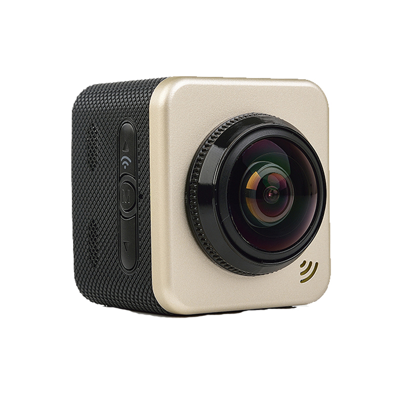Four Modes 12MP Wifi 360 Degree Cube 360S Panorama Cam