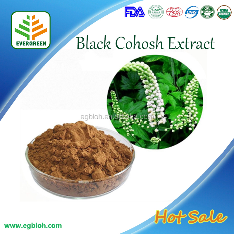 Pure Narural Chinese Medcine Black Cohosh Root Extract,Black Cohosh Extract,Triterpen Saponine