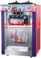 hot products 22l 3 Flavor Table Top Commercial Soft Ice Cream Machine for sale /ice cream making machine
