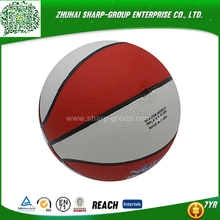 OEM Heat transfer printing new arrival rubber basketball customized in bulk
