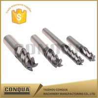Solid Carbide Coated Pipe Thread Milling Cutter