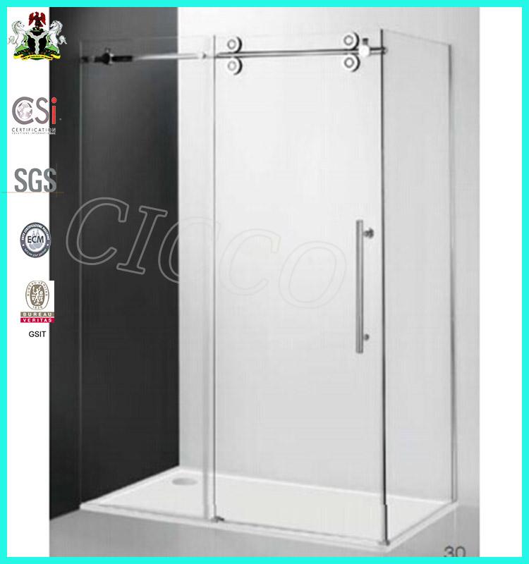 Modern design nano glass shower door rails ld001 buy for Shower doors for sale