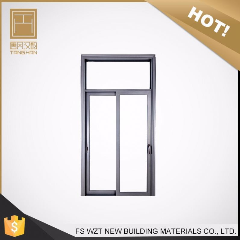 Best selling aluminium grille powder coated color ball bearing for sliding door wardrobe