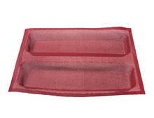Sedex factory Silicone flexible trays for baguette baking pan fiber glass coating