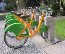 Green travel healthy cycling public share bike bicycle rental management system with bicycle tracking