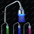 temperature sensor 3 colors rain shower head LD8010-A3