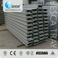 Outdoor Perforated Type Cable Tray Used In Wind Power Project