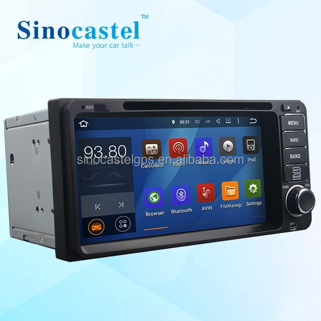 Double din touch screen car Stereo for 6.95 inch Toyota Universal with reversing camera