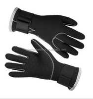 Non slip 3mm thickness waterproof neoprene diving gloves