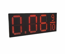 [GANXIN] Big size 24 Inch oil price display led lamp/ led gas price sign gasoline price board